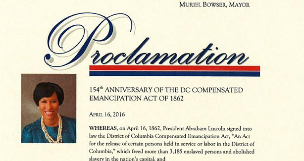 Image of a Proclamation